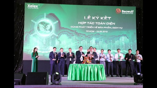 Beowulf Blockchain featured on Vietnam National TV - HTV9