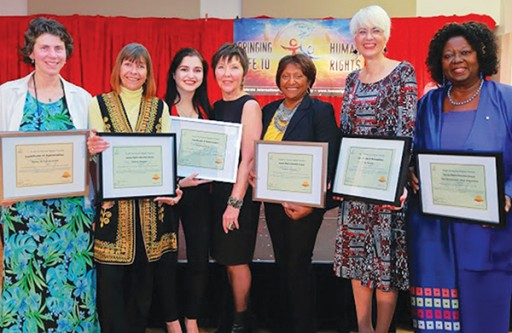 Canadian Icon Honored by Youth for Human Rights Toronto