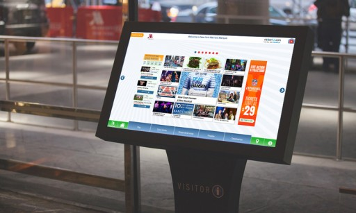 CTM Media Group Places 60+ Digital Concierge Touch Screens Throughout New York City, and 500 Screens Nationwide.