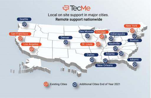 IT Industry Leaders Join TecMe's Board