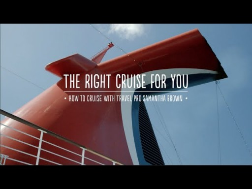 How to Cruise: The Right Cruise for You