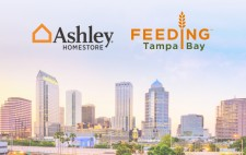 Ashley HomeStore Donates 250,000 Meals to Feeding Tampa Bay