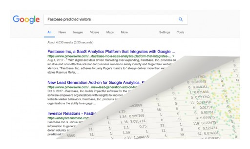 Fastbase, Inc. Will Predict the Future With Its New Google Analytics Add-on Feature