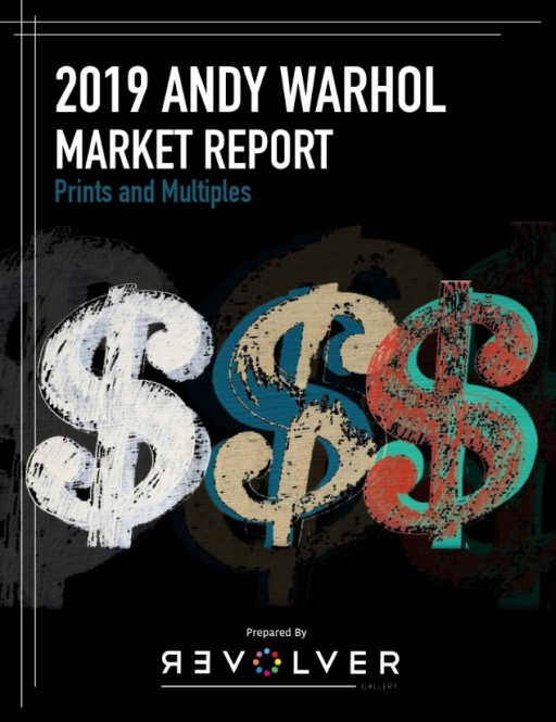 Revolver Gallery's Annual Andy Warhol Market Report Debuts as the #1 Bestselling Art Reference Book on Amazon
