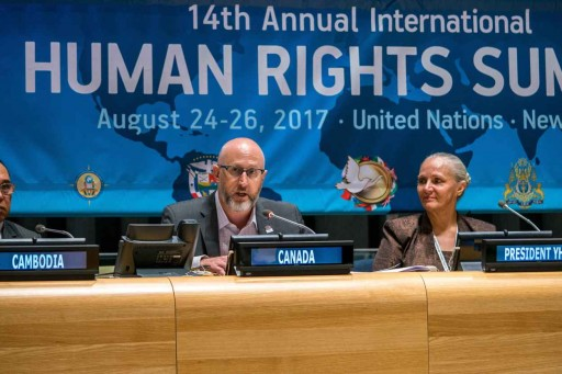 Youth for Human Rights Hosts Youth Summit at the UN