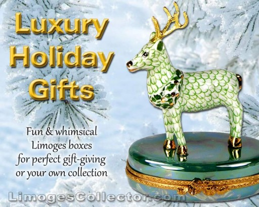 Kick Off the Holiday Shopping Season With Spectacular Luxury Gifts at LimogesCollector.com