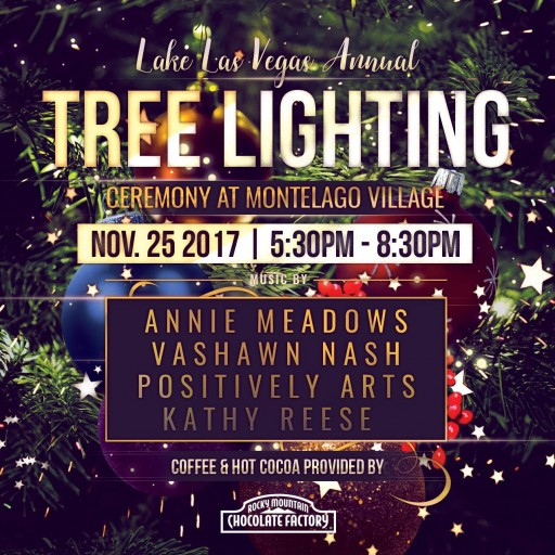 The Annual Christmas Tree Lighting Ceremony at Lake Las Vegas on Nov. 25