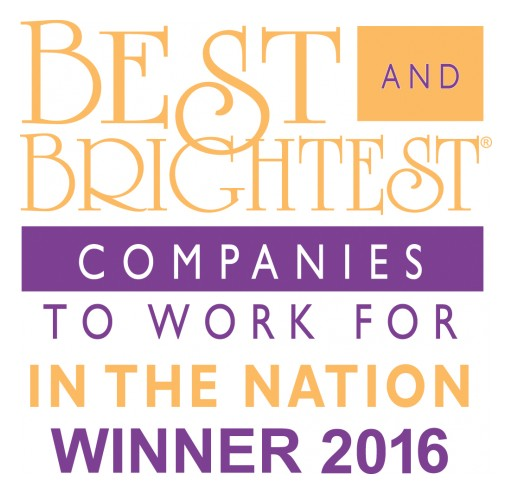 Strive Consulting Named Best and Brightest Company to Work for in the Nation