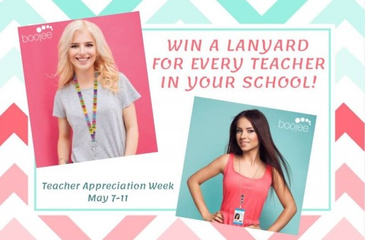 Boojee Beads Teacher Appreciation Week Contest: Win a Free Fashion Lanyard for Every Teacher at One's Favorite School