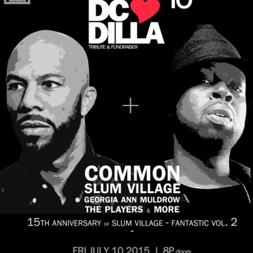 Common to Headline 10th Anniversary DC Loves Dilla Tribute and Fundraiser