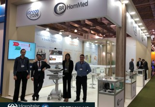 BR HomMed live @Hospitalar Booth [Rua 11-142 Branco II]