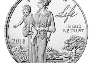 2018 Proof Platinum American Eagle - Life - Front