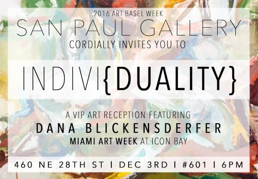 Visual Artist Dana Blickensderfer to Showcase Her Artwork at Miami Art Week During Art Basel 2016