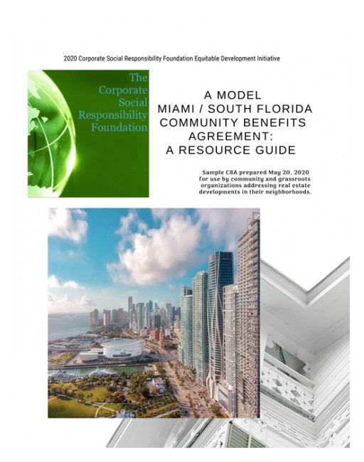 Corporate Social Responsibility Foundation Publishes a New Resource to Promote Equitable Development in South Florida