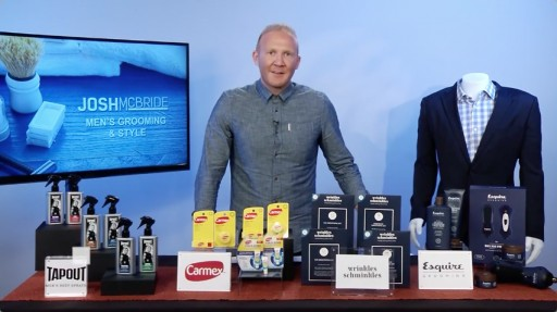 Entertainment Lifestyle Expert Josh Mcbride Tackles Why Good Grooming is Important for Men on Tips on TV