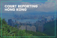 Just launched: Court Reporting Hong Kong