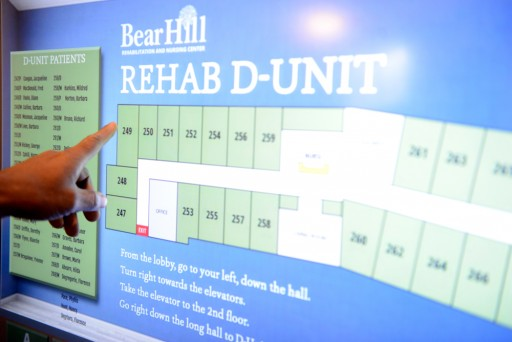 Interactive Digital Signage Guides Visitors at Boston Nursing Home