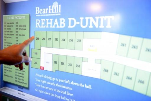 Interactive Digital Signage Guides Visitors at Boston Nursing Home