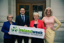Irish Prime Minister Leo Varadkar announces IrelandWeek
