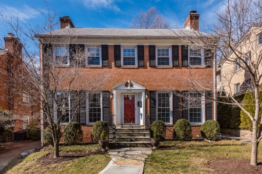 A Storied Washington, DC Home Hits the Market