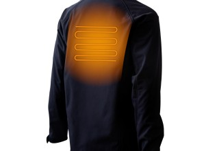 Gobi Heat Sahara Mens 3-Zone Heated Jacket - Back