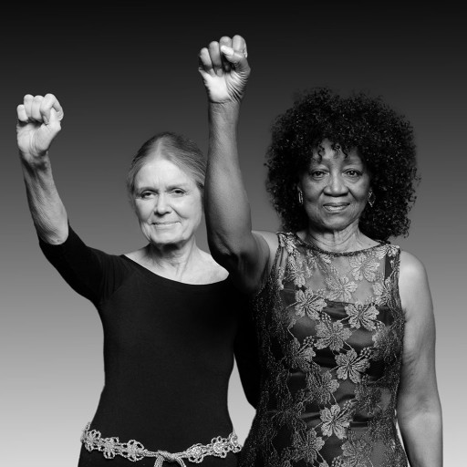 Re-Enacted Portrait of Gloria Steinem and Dorothy Pitman Hughes in Iconic 1971 Pose of Female Empowerment and Equal Rights Taken by Daniel Bagan Accepted Into Smithsonian National Portrait Gallery Collection
