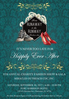 From Runaway to Runway Fashion Show benefited Miracles Outreach.