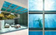 Glass Pool Floor