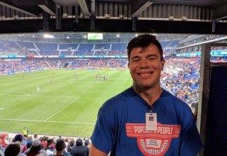 Chris at Red Bull Arena