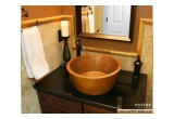 Circa copper vessel bath sink