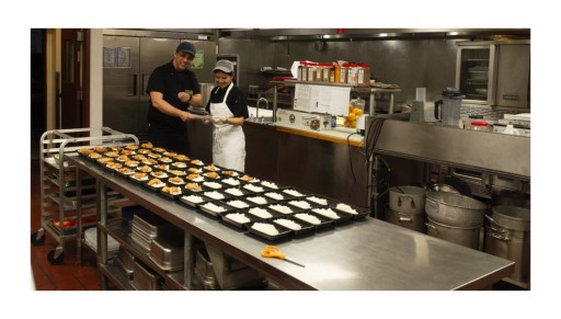 Mater Dolorosa Kitchen Staff Steps Up - and Hunkers Down - to Feed the Vulnerable