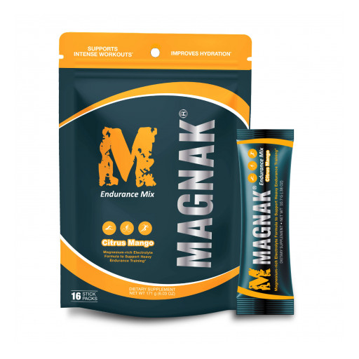 MAGNAK® Electrolyte Hydration Launches Additional Flavors and Unveils New Packaging