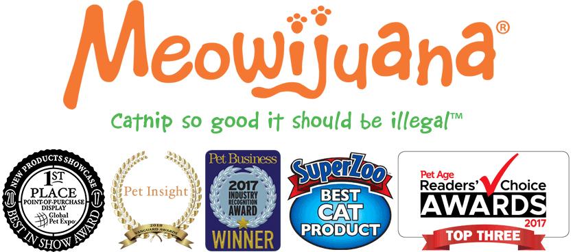 Meowijuana®, a Natural Catnip Company, Introduces Fun, Refillable