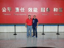 President and Managing Director in China
