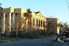 Panama City Courthouse destroyed