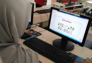 Yayasan Usaha Mulia (YUM) student in Indonesia learning on Cudoo.com