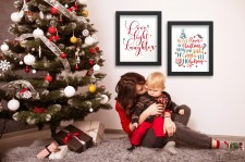 Wall Art from the Christmas Joys Collection