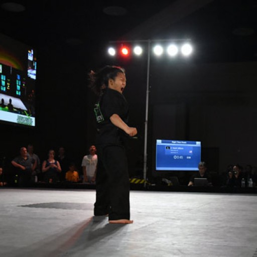 Competing on Greatmats, Noell Jellison Proving Girl Martial Artists Are Up to the Challenge