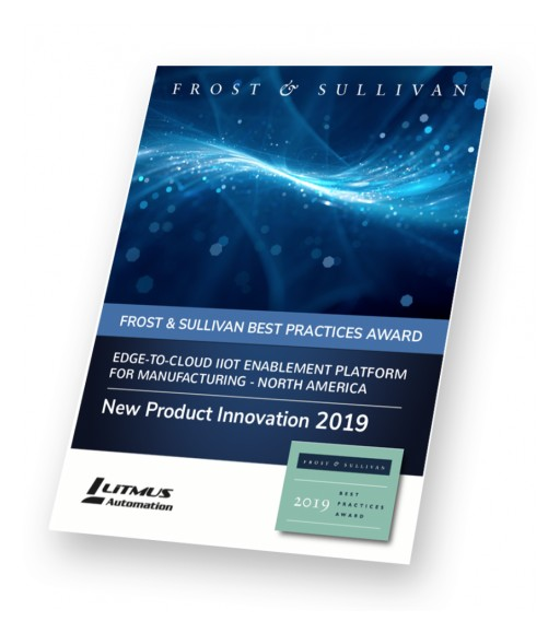 Litmus Automation Receives Frost & Sullivan New Product Innovation Award