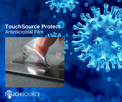 TouchSource Introduces New Antimicrobial Film Solution for Improved Interactive Touch Screen Safety