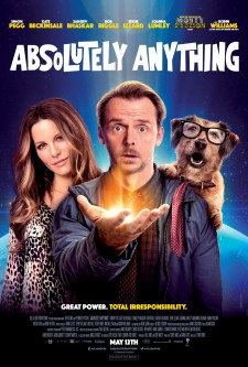 Official Absolutely Anything movie poster