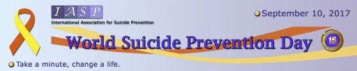 World Suicide Prevention Day (WSPD), 10 September 2017