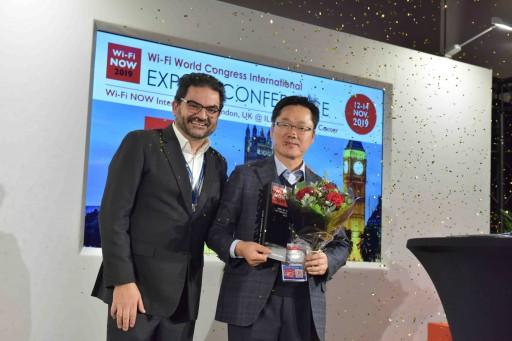 NEWRACOM Wins the BEST Wi-Fi IOT PRODUCT 2019 Award at Wi-Fi NOW