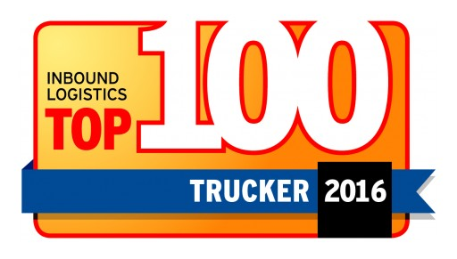 "Moran Transportation Corporation Earns Spot on Inbound Logistics ""Top 100 Truckers of 2016"""