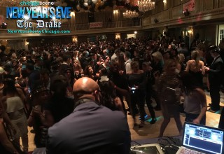 The Drake Hotel Chicago New Year's Eve Party