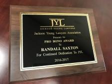 Pro Bono Award