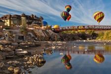 Hot air balloons in Pagosa Springs
