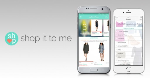 Award Winning App Shop It to Me Now Available on Both Android and iOS Devices