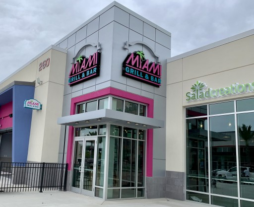 Miami Grill® & Bar Officially Opens at ONE DAYTONA