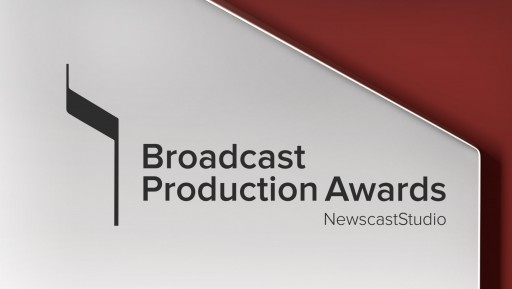 NewscastStudio Announces Winners for Broadcast Production Awards, Honoring the Best in Production